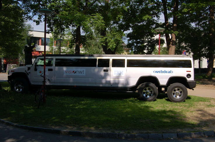 Hummer limousin, photo de Skien