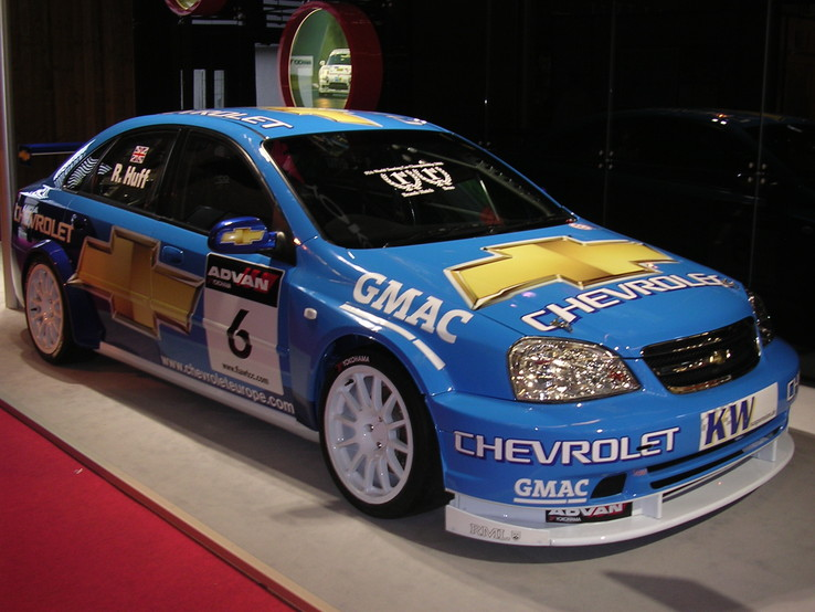 Chevrolet WTCC de R. Huff, photo de Paris