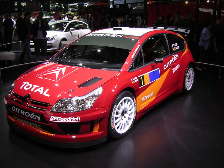 Citroën C4 WRC, photo de Paris