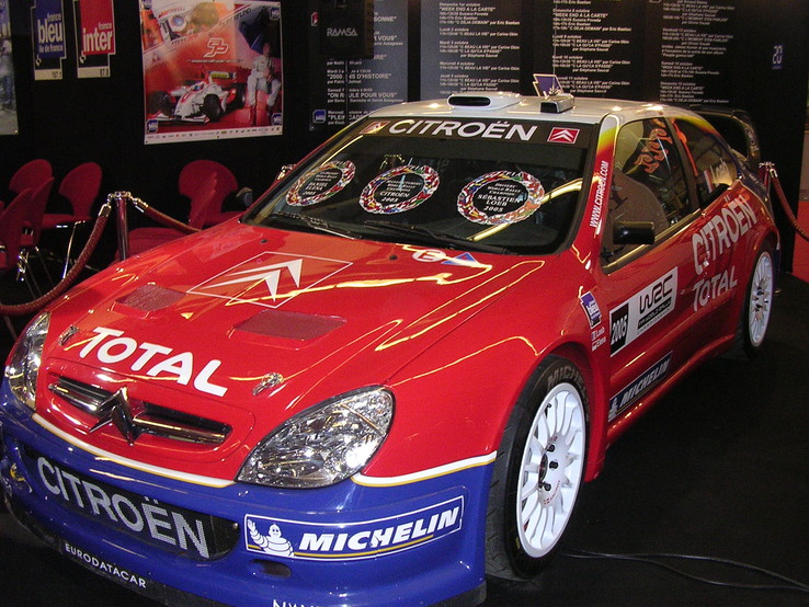 Citroën Xsara WRC, photo de Paris