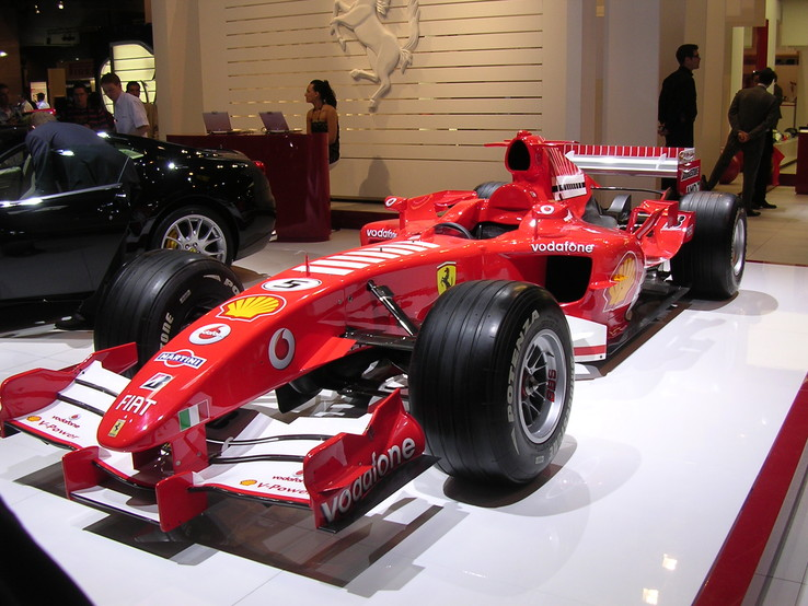 Ferrari F1, photo de Paris