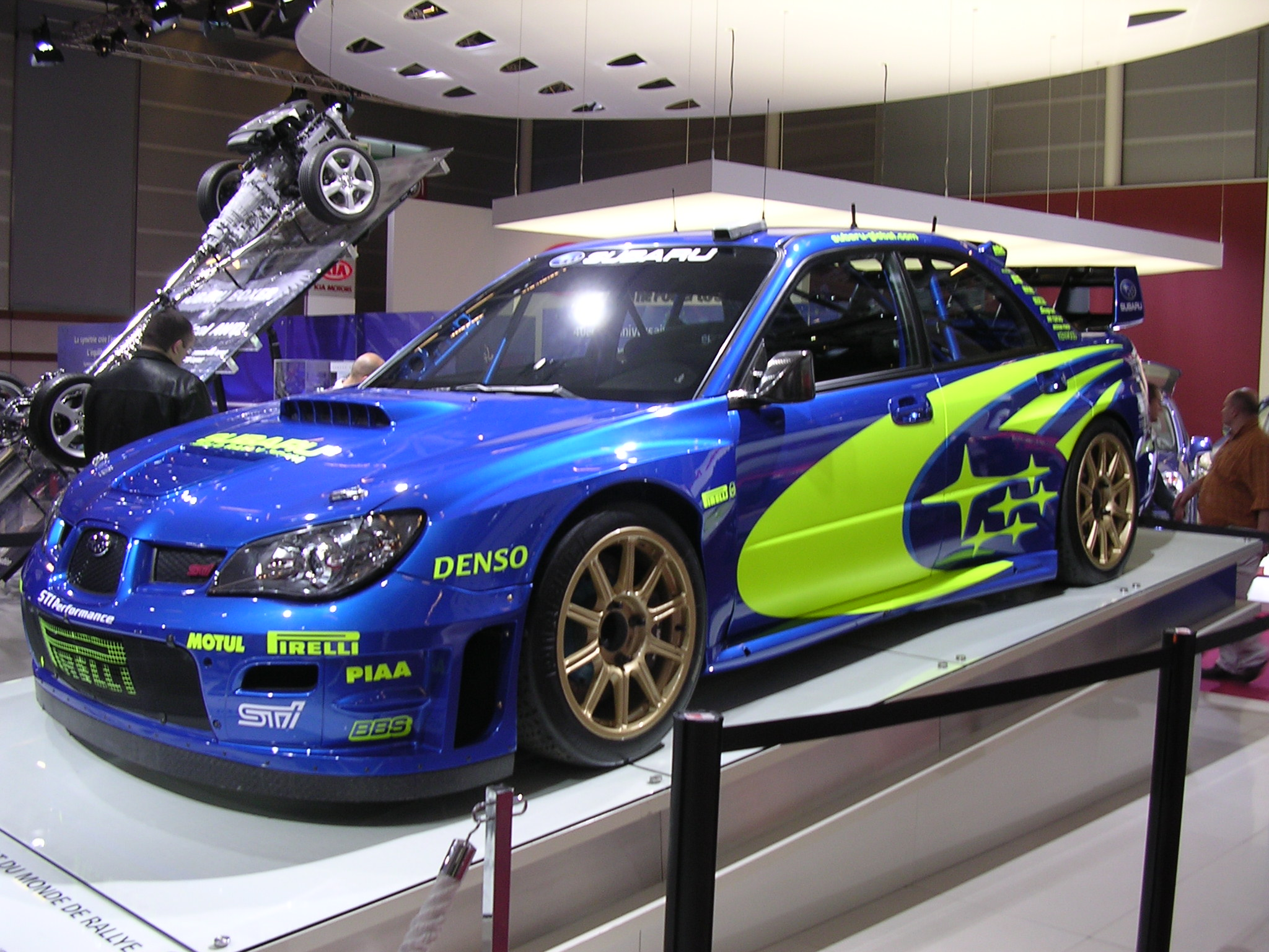 subaru impreza wrc photo de paris paris 75. Black Bedroom Furniture Sets. Home Design Ideas