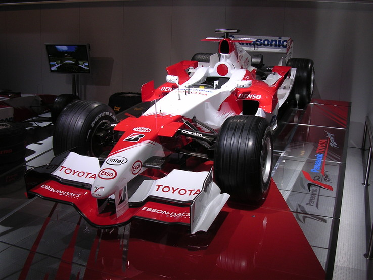 Toyota F1, photo de Paris