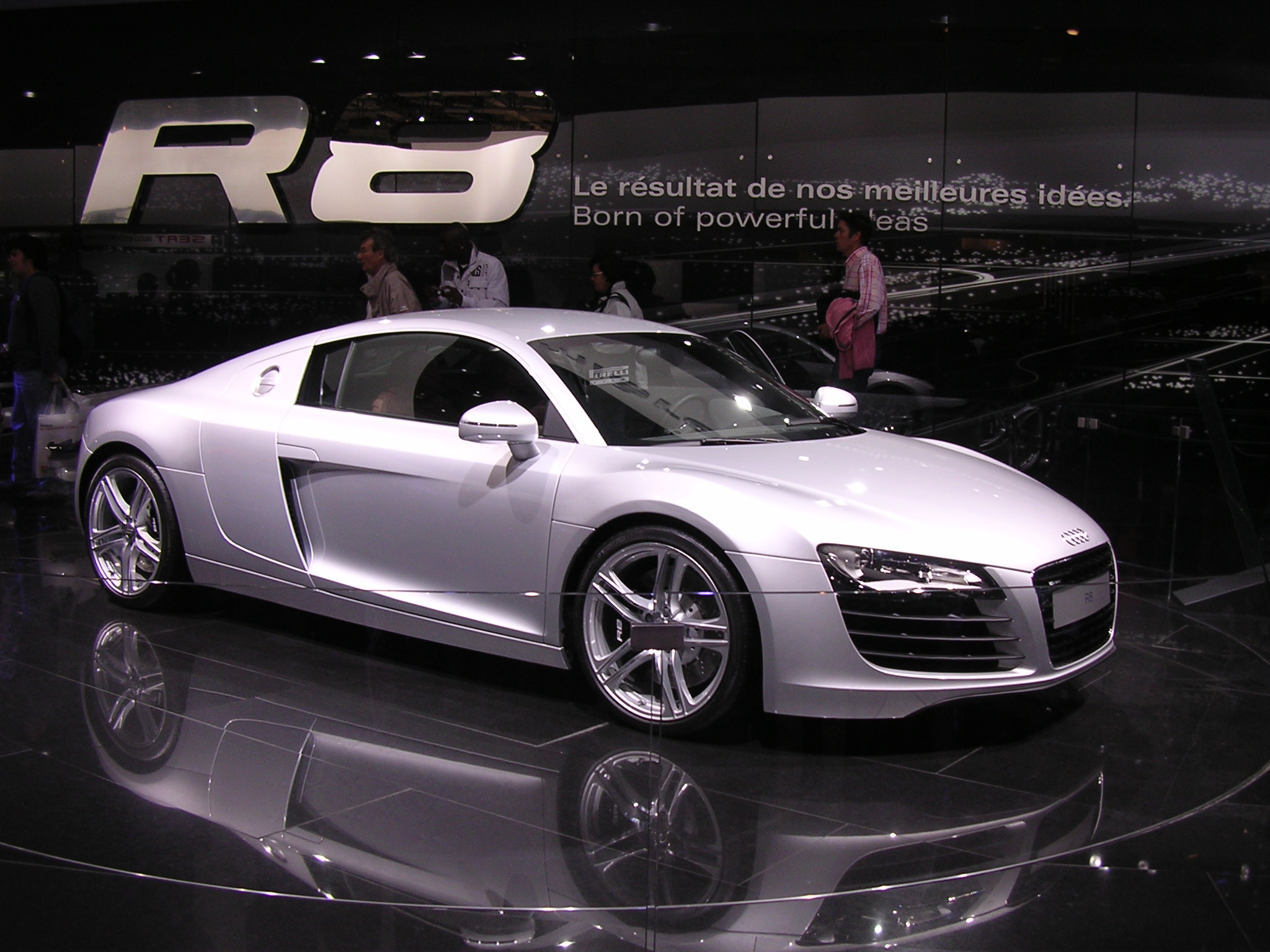 audi r8 photo de paris paris 75. Black Bedroom Furniture Sets. Home Design Ideas