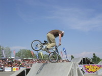 Dave Freimuth en Nose pick sur le spine
